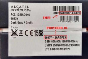 Прошивка для Alcatel One Touch 4027d